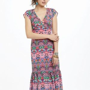 Vanessa Virginia Mural Maxi Dress
